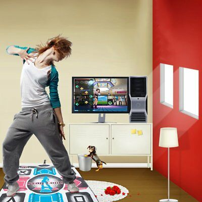 Non-Slip Dancing Step Dance Mat Pad Pads Dancer Blanket to PC with USB YR