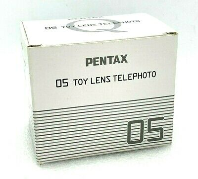 New Pentax 05 TOY Lens TELEPHOTO 18mm f/8 for Q Mount