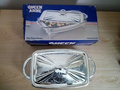 Queen Anne Silver Plated Tableware Serving Dish