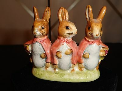 Beatrice Potter's, Flopsy,Mopsy, and Cottontail 1954, Beswick,ENGLAND