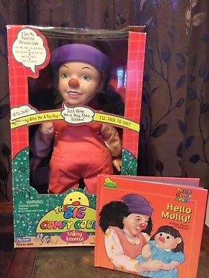 Big Comfy Couch Loonette Doll Talking in Box with book