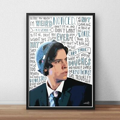 Cole Sprouse INSPIRED WALL ART Print / Poster A4 A3 / Zac and Cody / Actor