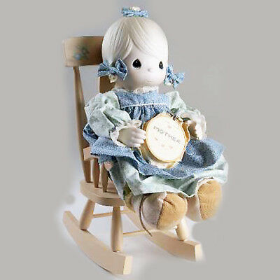 """MOTHER SEW DEAR DOLL E-2850 by Precious Moments 16"""" tall1984 NEW IN BOX Taiwan"""
