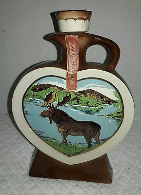 Vintage Loyal Order Of Moose 1972 Moosehaven Mooseheart Anniversary Decanter