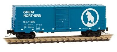 Z Scale MTL Great Northern 40' Box Car Road Number 11620
