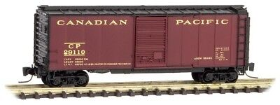 Z Scale MTL Canadian Pacific 40' Box Car 29110