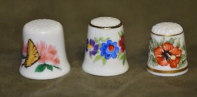 3 Vintage Thimble's Collector Club  in Very Nice Condition.