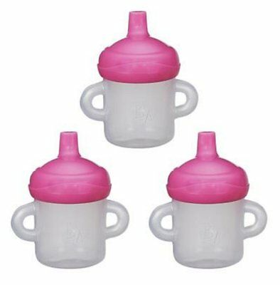 Hasbro Baby Alive Sippy Cup 3-Pack Refill NEW