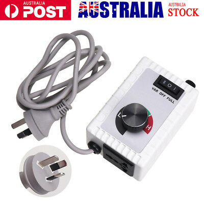 8A 220V - 240V Router Speed Control Variable Controller  Aussie Standard Plug