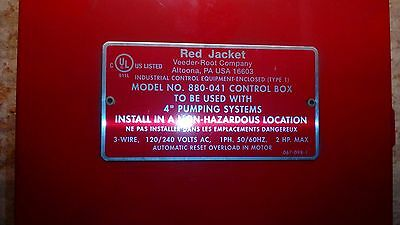 Veeder-Root Red Jacket Control Box 880-041