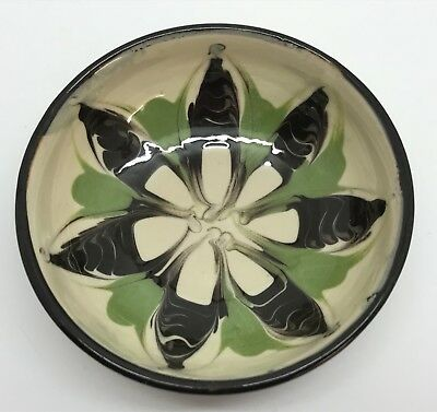 """Small 3-3/8"""" Herman KAHLER Scandinavian Pottery Bowl Signed Collectible (RF724)"""