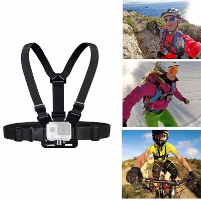 Portable Chest Harness Strap Belt Holder Mount For Camera Gopro Hero 4/3/3+ New