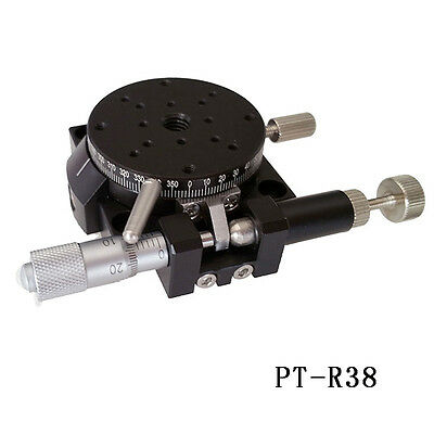 Manual R Axis Rotation Stages 360 degree rotation stage Φ38mm-Φ125mm
