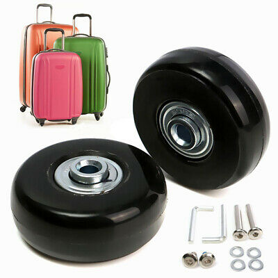 1Pair Luggage Suitcase Replacement Wheels Axles Repair Wrench Deluxe 40/50/70mm