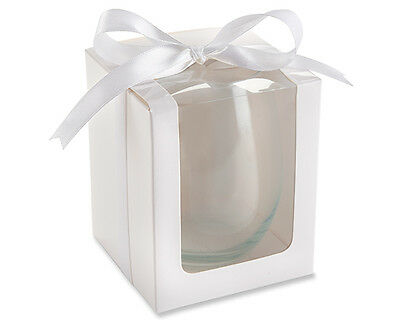 White Stemless Wine Glass Gift Box for our Stemless Wine Glass