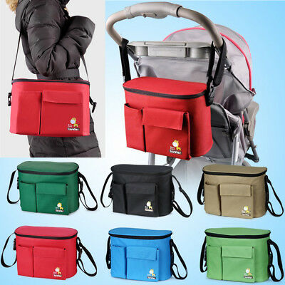 Organiser Storage Pram/Stroller Baby Nappy Bag Mummy Insulation Changing Bag