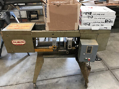 KALAMAZOO Model C7AD  HORIZONTAL METAL CUTTING BAND SAW W/ VERTICLE & GUARDS