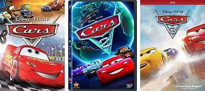 Cars 1, 2, & 3) Movie Set Brand New Sealed Now Shipping !!!!