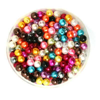 Lot 50 Perle imitation 6mm Mixte, Pour vos creation Bijoux, Collier, ...