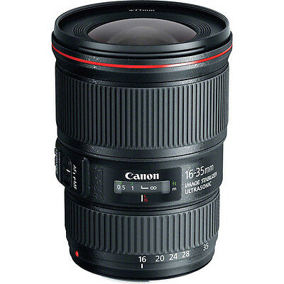 New Canon EF 16-35mm f/4 L IS USM Lens