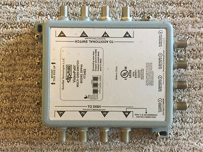 Multi-dish Switch model DPP44 173402
