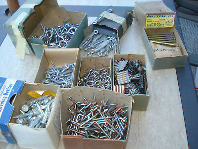 Lot Of Vtg Hardware Store Miscellaneous Close Out Items 10 1/2 Lb