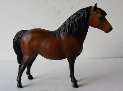 Breyer Molding Co Brown Standing Horse Figurine Pony Figurine Toy Model-Vintage