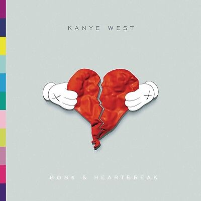 "Kanye West 808s & Heartbreak poster wall decoration photo print 24"" x 24"" inches"