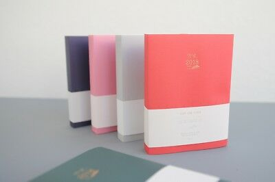 [Hello 2018 Daily Diary] Dated Monthly Yearly Planner Scheduler Calendar Note