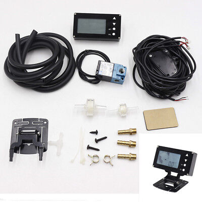LCD Display EVC Electronic Valve Turbo Boost Controller w/ Turbo Sensor For Auto