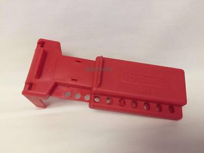 Honeywell North B-Safe BS01R - Red Ball Valve Handle Lockout - New