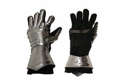 Viking Medieval Stainless Steel Hand Gloves Knight Armor SCA LARP Brand Adult