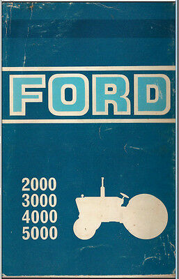Ford Tractor Service Manual 1965-1975 Series 2000, 3000, 4000,7000 PDF on CD