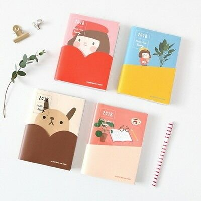 [2018 Hello Jane Diary] Dated Monthly Yearly Planner Scheduler Calendar Journal
