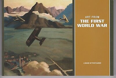 ART FROM THE FIRST WORLD WAR ... a book of 27 color postcards