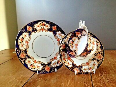 1920's ROYAL ALBERT HEIRLOOM IMARI CUP SAUCER & SIDE PLATE NOT DERBY OR ALHAMBRA