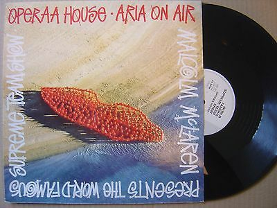 "MALCOLM McLAREN pres THE WORLD FAMOUS opeera HOUSE / diva UK 12"" 45 VIRGIN HOUSE"