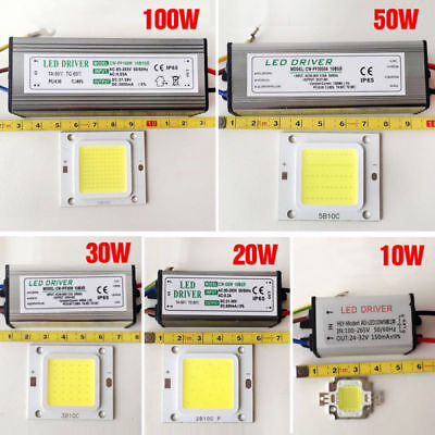 10W20W30W50W70W100W Transformateur de pilote  imperméable LED SMD Chip Driver