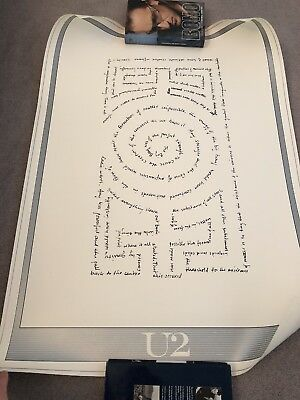 U2 Lithograph The Edge 383/500 COA