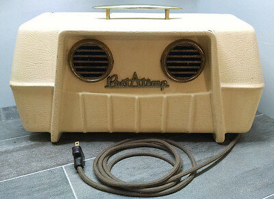 Vintage Mid Century Port-A-Temp Portable Air Conditioner Swamp Cooler Blower A56