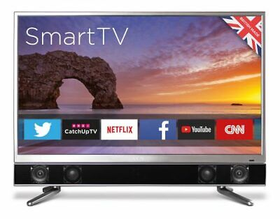 "CELLO PLATINUM 32"" SMART WIFI LED TV ANDROID APP's FREEVIEW HD USB HDMI HD 720P"