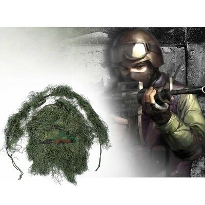 Camouflage Grass Hunting Type Sniper Tactical Hood Cap Rope Hunting Cloth