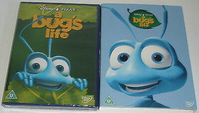 A Bug's Life DISNEY PIXAR DVD & LIMITED EDITION O RING SLIP COVER SLEEVE SEALED