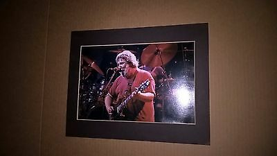 Grateful Dead Photo Spring Tour 1986 Jerry Garcia Picture w/ Matting