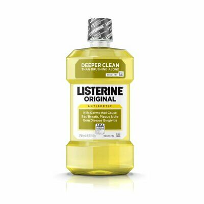 Listerine Antiseptic Adult Mouthwash, Original - 8.5 Fluid Ounce (Pack Of 6)