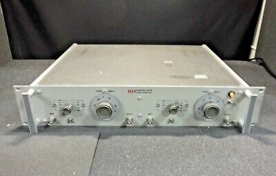 Krohn-Hite Model 3202R Variable Pass Filter (117/234V, 50-400Hz, 30W)