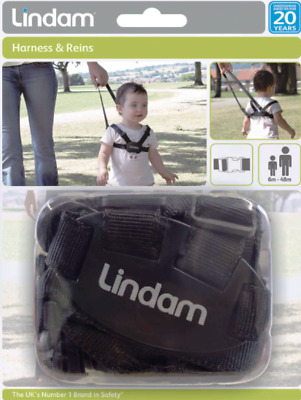 Lindam Harness And Reins-Child Safety Walking Leash Straps RRP £19.99