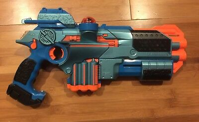 Tiger Electronics LAZER TAG Phoenix LTX Blue Laser Gun, Sight,Shotgun Attachment