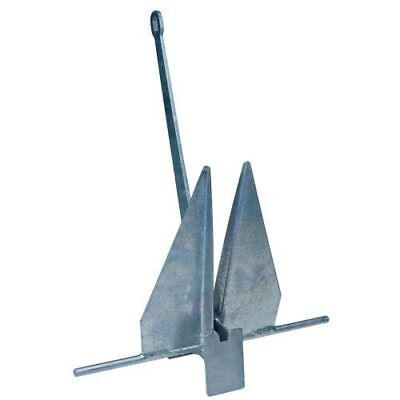 Galvanised Steel Crown Stock Anchor 1.5kg - 30kg  Boat Handy Straps