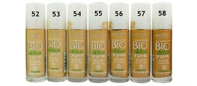 BOURJOIS BIO DETOX ORGANIC FOUNDATION 30ml